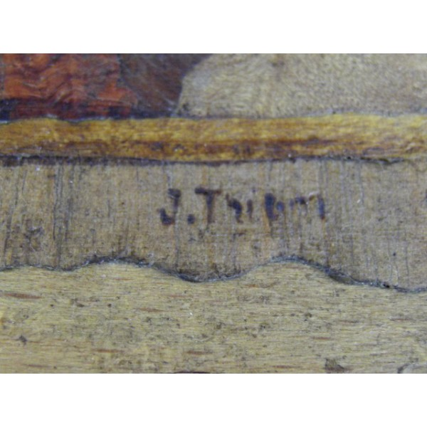 Petit coffret en bois marqueté  brocante  ~ Petit Coffret Bois