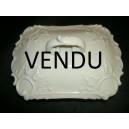 Boîte en porcelaine blanche Limoges