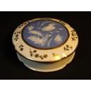 Boîte bonbonnière ancienne en porcelaine de Limoges