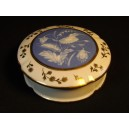 Old candy box in Limoges porcelain