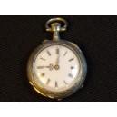 Women's silver collar watch mechanism C. CRETTIEZ