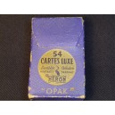 "Card game old brand Heron model ""Opak"""