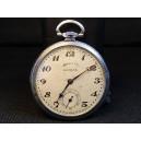 Chromed Chronograph Reti Pocket Watch in Chrome