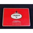 """Boîte de cigarettes en métal """"Craven A"""" n°1"""