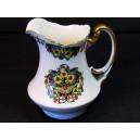 Porcelain jug or creamer AF porcelain in Limoges around 1900