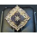 Old collar brooch