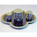 Ceramic service Fives Lille 4 pieces
