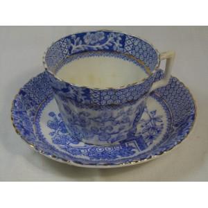 Tasse à thé ancienne en Porcelaine anglaise Blairs