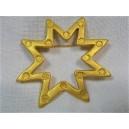 Lancôme golden metal brooch