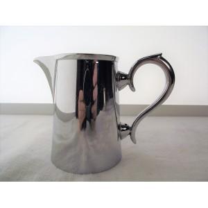 Pot à lait/crémier en métal argenté estampillé Graff