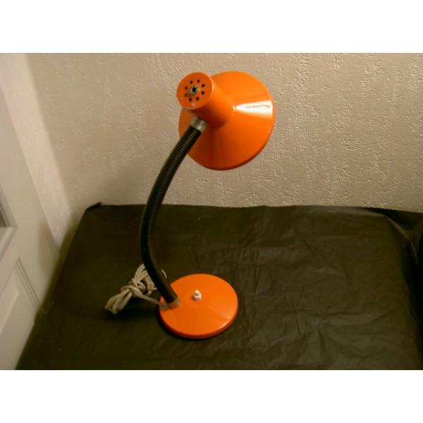 Lampe De Bureau Vintage Orange Brocante Lestrouvaillesdecaroline