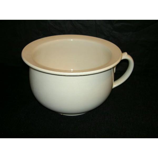 Pot de chambre en fa ence digoin sarreguemines brocante for Pot de chambre camping