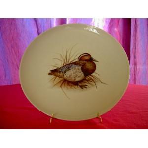 Assiette preuve d 39 artiste porcelaine de limoges d cor for Decoration canard