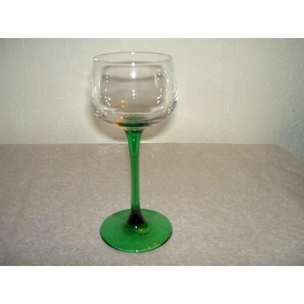 6 verres vin blanc d 39 alsace arc brocante lestrouvaillesdecaroline. Black Bedroom Furniture Sets. Home Design Ideas