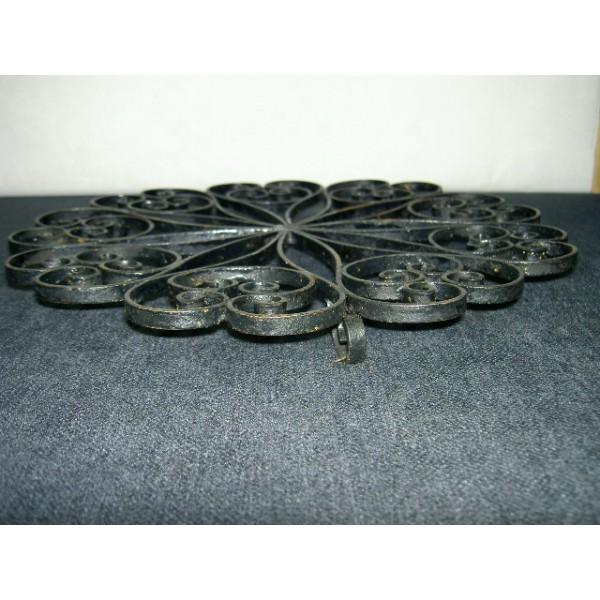 Dessous de plat en fer forg vintage brocante - Dessous de plat en metal ...