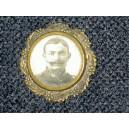 Broche ancienne de style Napoléon 3