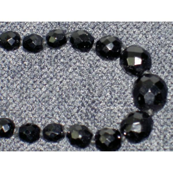 collier de deuil en perles de jais brocante. Black Bedroom Furniture Sets. Home Design Ideas