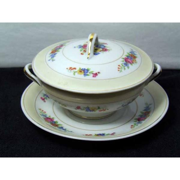 sick cup and saucer porcelain Limoges, Limoges France marked